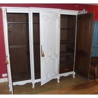 3 Door Vintage Armoire