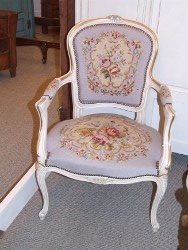 Vintage French Tapestry Chair