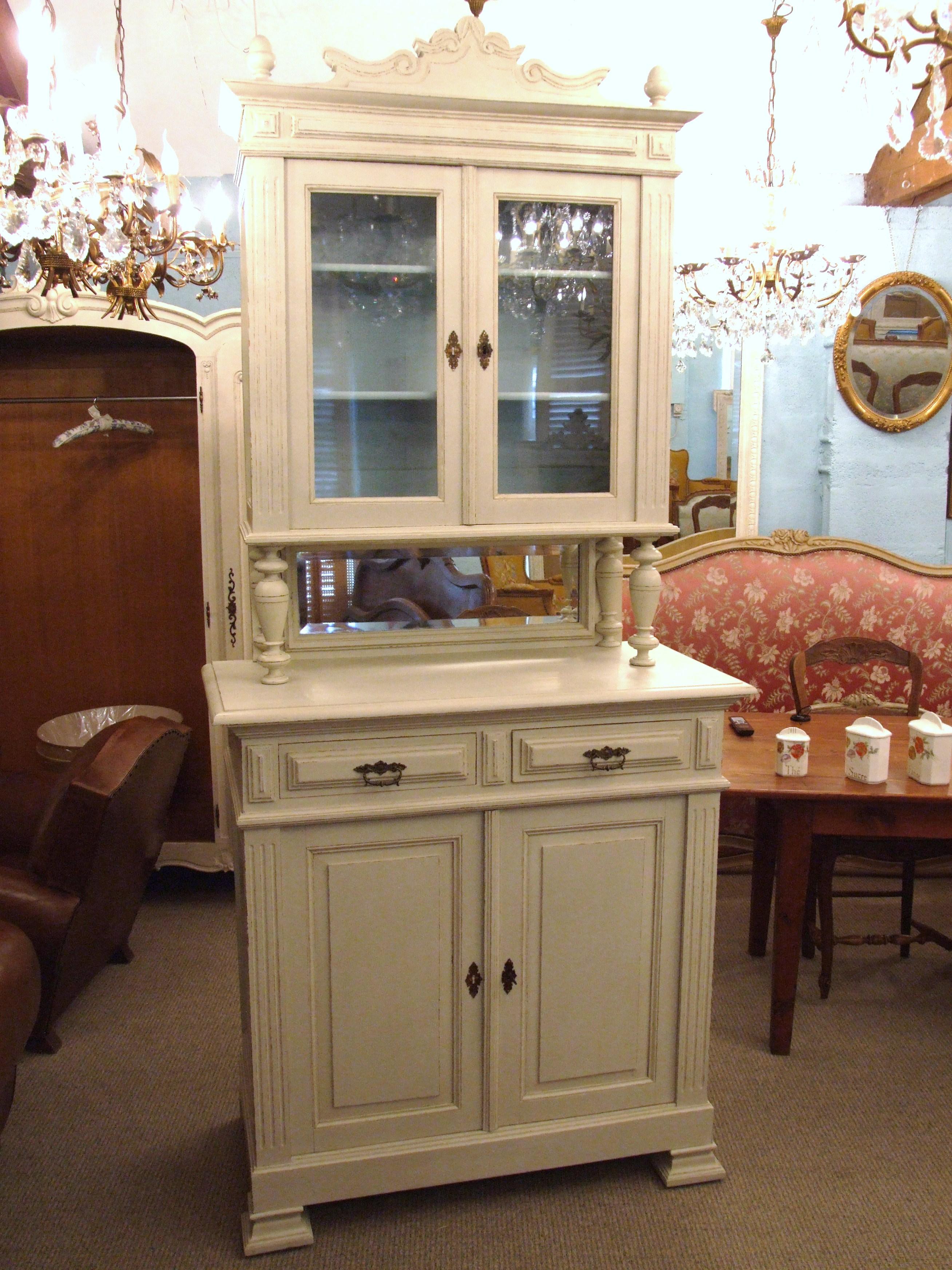 safe antique kitchen leadlight cupboard cabinet dresser meat