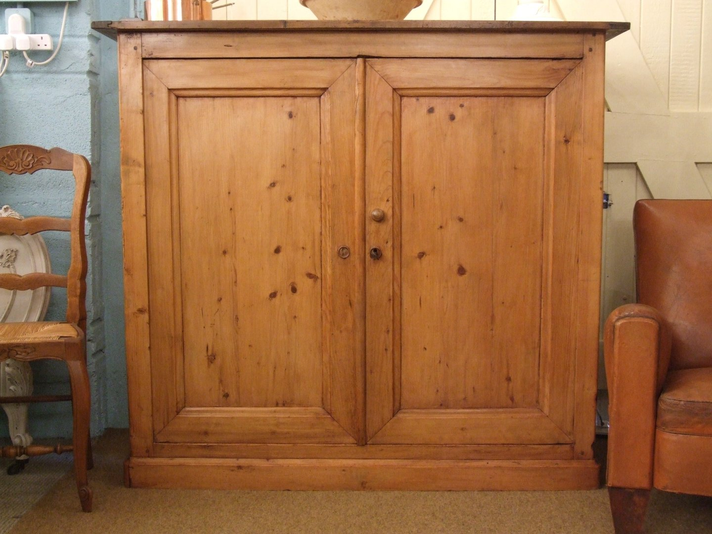 Large Antique Pine Kitchen Cupboard Source · F530 S Stunning Large Antique  French Country 2 Door - Antique Pine Kitchen Doors Antique Furniture