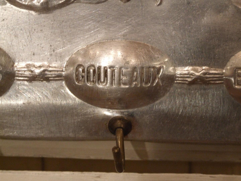 B298 s divine antique french art nouveau kitchen towel for Accroche torchon cuisine