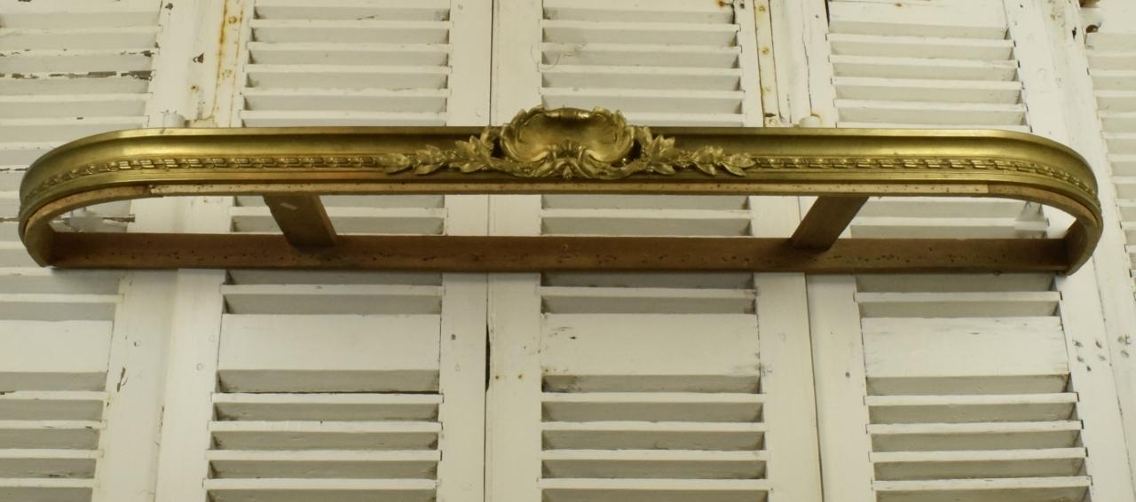 b690 s impressive antique french chateau pelmet ciel de lit bed canopy c1900 la belle toffe. Black Bedroom Furniture Sets. Home Design Ideas