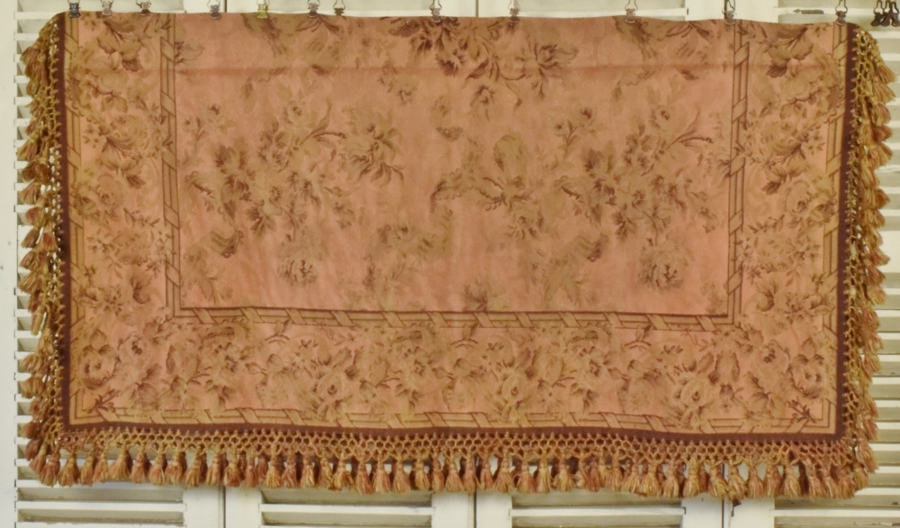 B803 S Divine Antique French Roses Tapestry Tablecloth