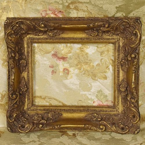 B1017 - Superb Antique French Gilded Gesso On Wood Picture Frame, Tres Chateau Chic