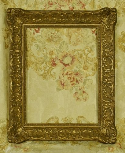B1245 - Superb Antique French Decorative Gilded Gesso On Wood Picture Frame, C1900